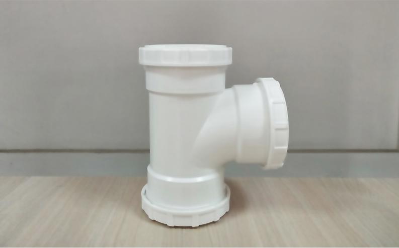 静音排水管件顺水三通