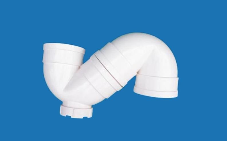 成都静音排水管件P型存水弯